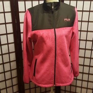 NWOT FILA full zip fleece jacket